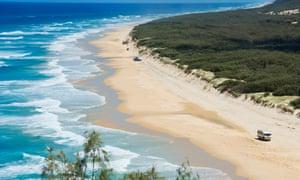 Fraser Island coastline