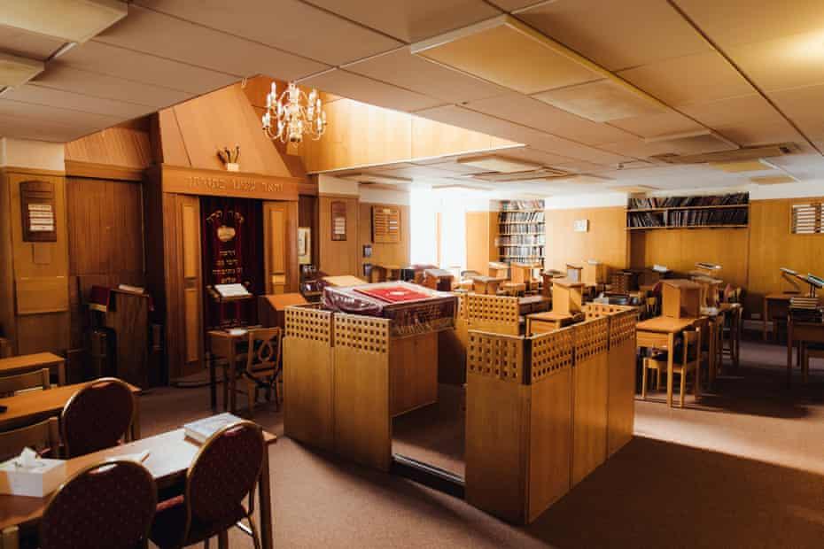 The Tottenham Addas synagogue lies empty