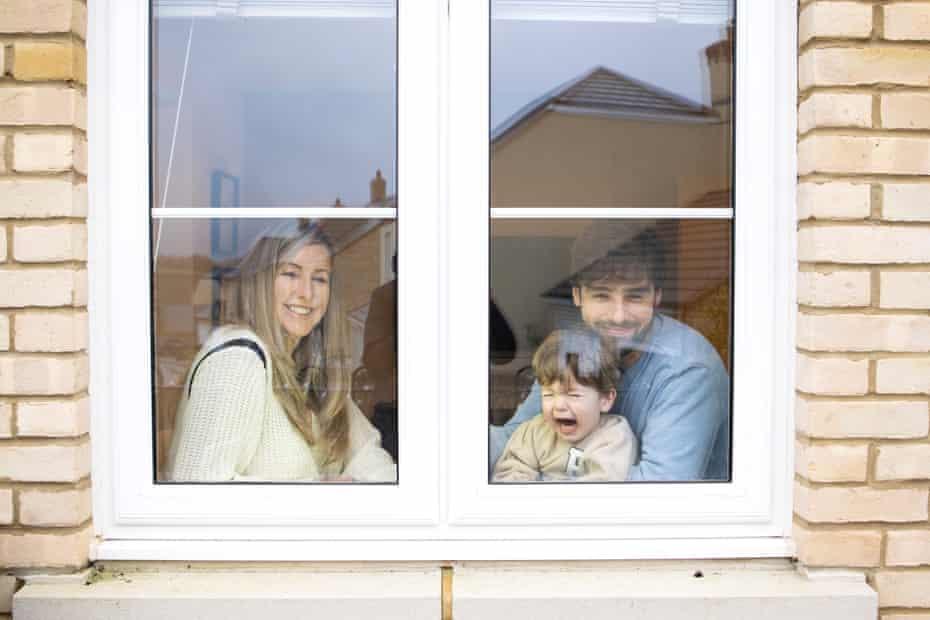 Penny Joyner-Platt and her husband Cris Platt with son Freddie