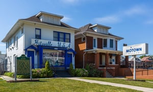 'Hitsville USA' ... The Motown museum, Detroit.