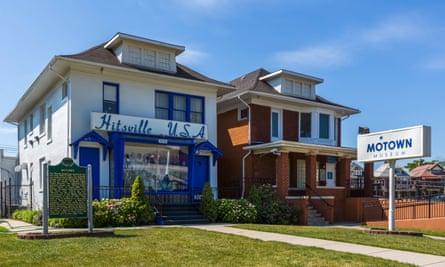 'Hitsville USA' ... The Motown museum, Detroit.