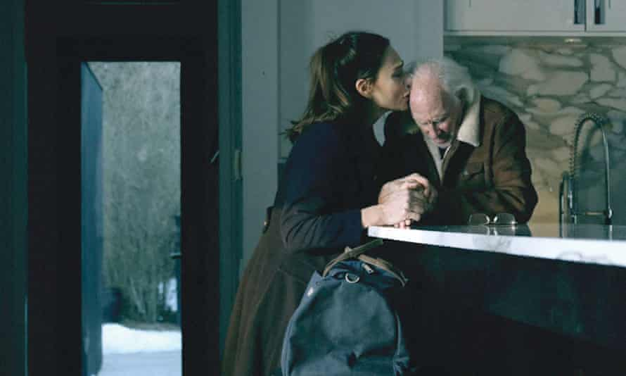 Lena Olin and Bruce Dern in The Artist's Wife
