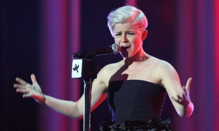 Robyn performing at the Nobel peace prize concert in Oslo in 2008.