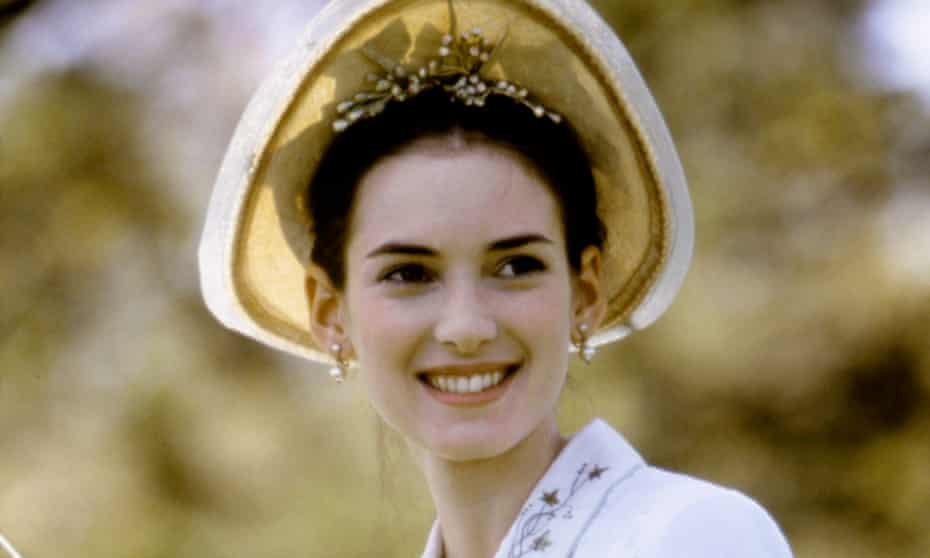 Winona Ryder in The Age of Innocence.