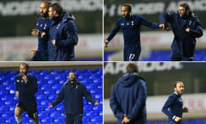Tottenham's Andros Townsend and fitness coach