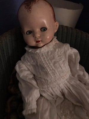 An old-fashioned doll