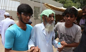 A June 2015 heatwave in Pakistan killed hundreds of people and put thousands in hospital.