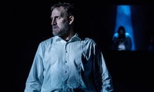 Robust … Christopher Eccleston as Macbeth in Stratford-upon-Avon.