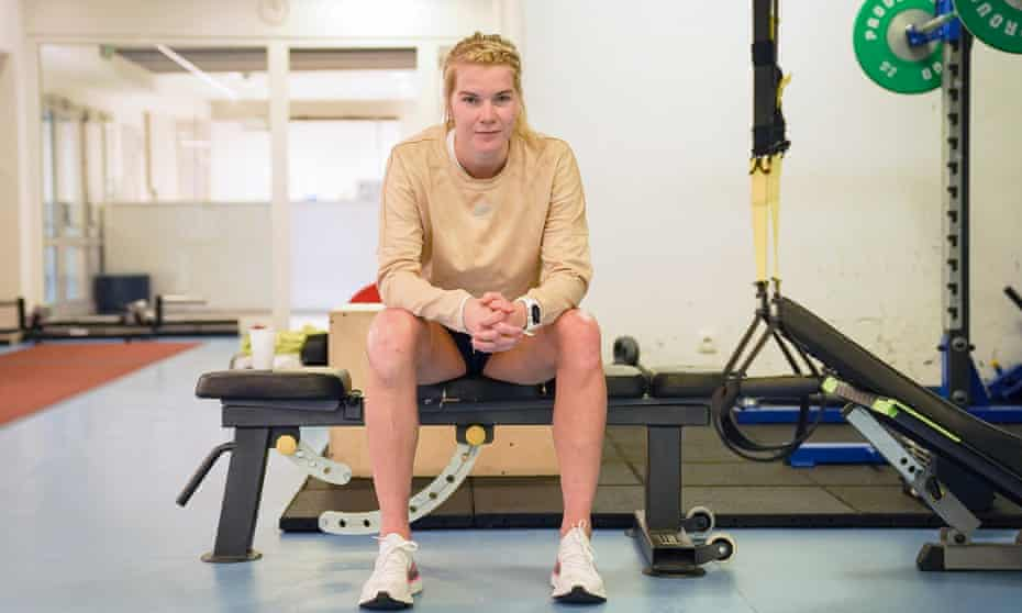 Ada Hegerberg has found rehab hard after two serious injuries in 2020.