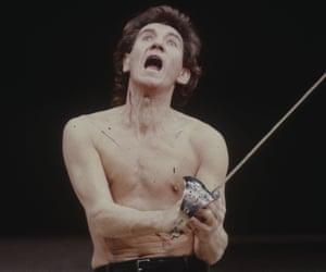 Ian McKellen as Coriolanus in 1984