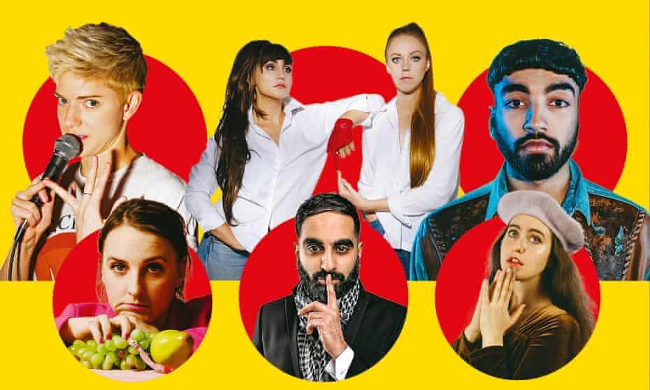 Mae Martin; Natasia Demetriou; Ellie White; Mawaan Rizwan; Catherine Cohen; Tez Ilyas; Lucy Pearman