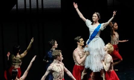 Abigail Prudames as Victoria.