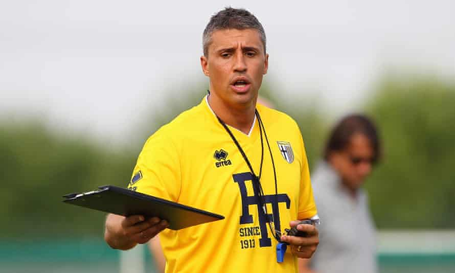 Hernán Crespo is working with Parma's youth teams at the moment.