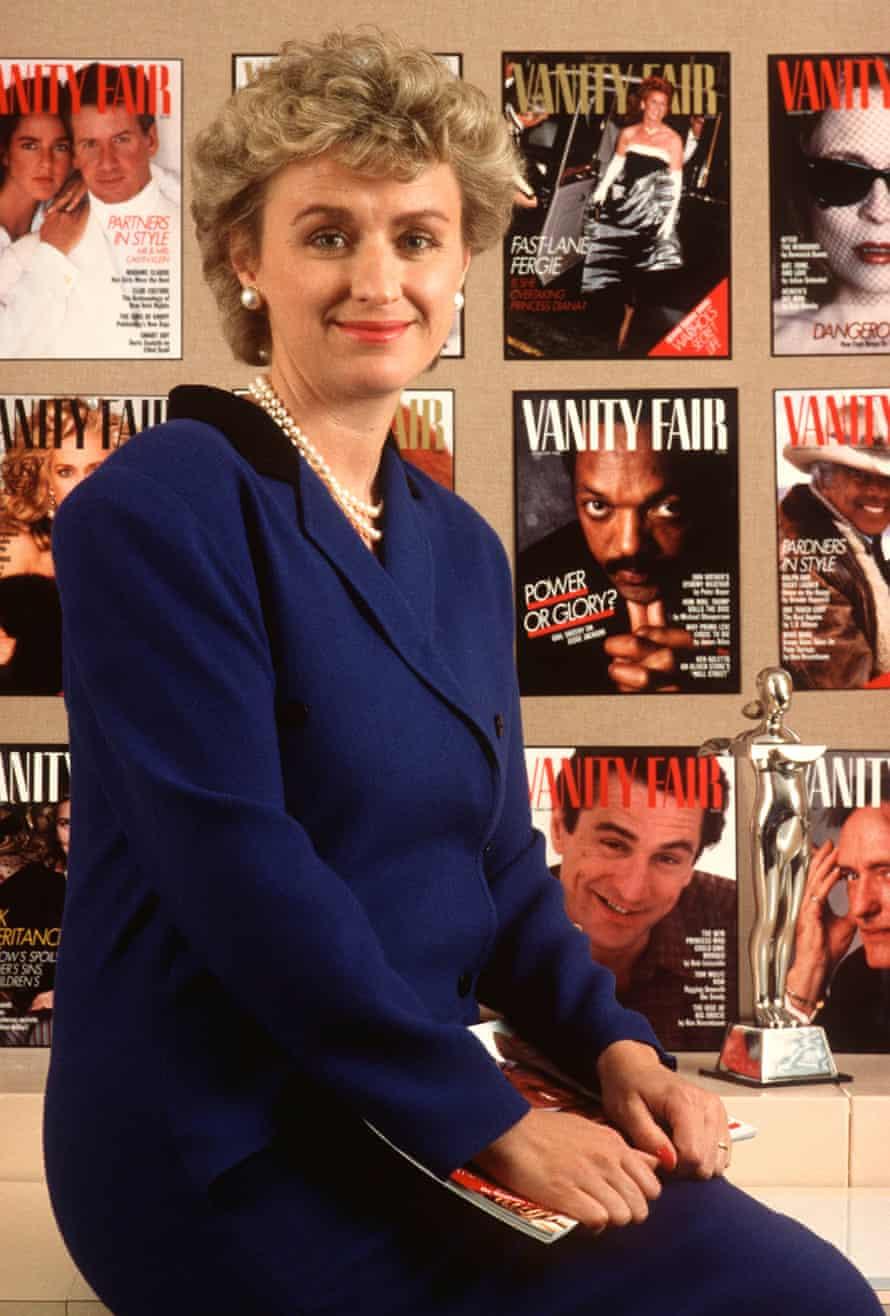 Tina Brown in 1988.