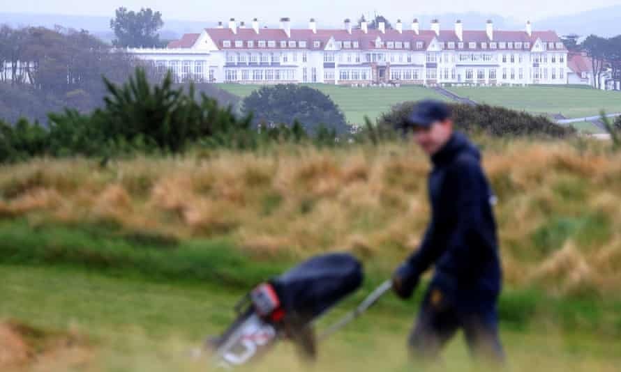 Turnberry is one of the Trump family's two golf properties in Scotland