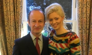Henry Bolton, the Ukip leader, with Jo Marney.