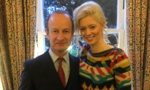 Henry Bolton and Jo Marney in photograph posted on Twitter.
