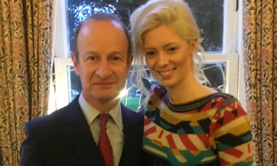 Henry Bolton and Jo Marney