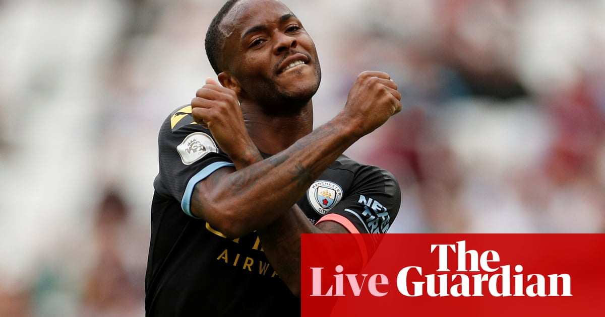 West Ham United 0-5 Manchester City: Premier League – as it