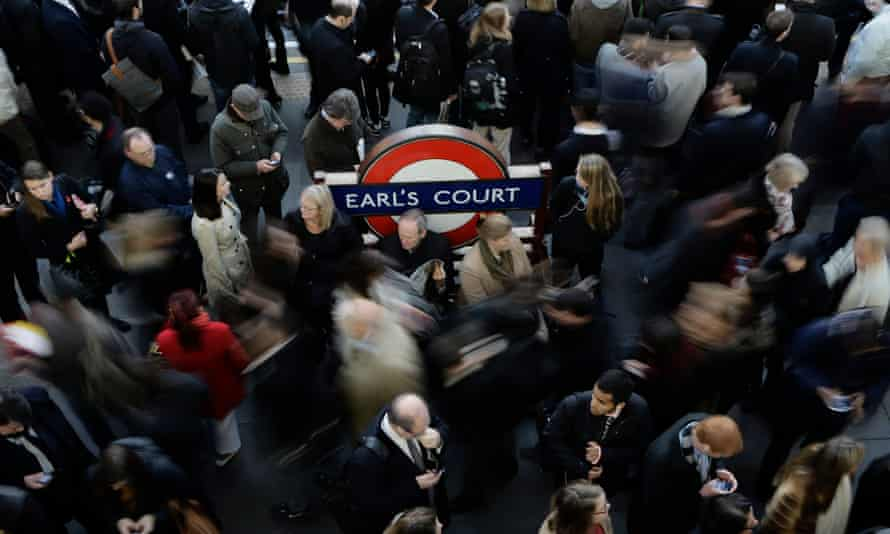 Earl's Court station in London was the worst for pollution limit breaches, the map indicated.