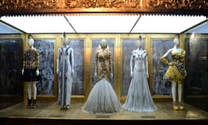 The Alexander McQueen: Savage Beauty exhibition at the V&A in 2015.
