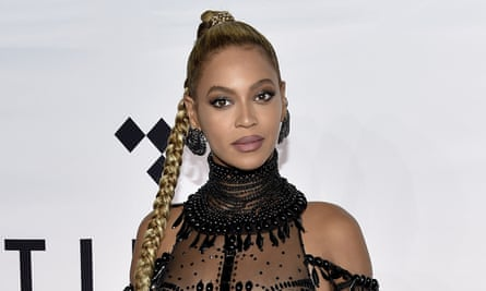 'Changed the game with that digital drop' – but not this time ... Beyoncé pictured in October 2016.