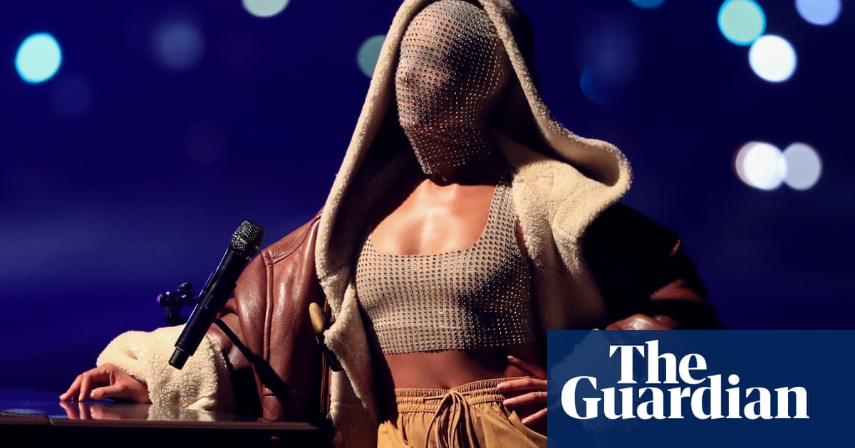 Jewelled face masks and smashed guitars – the MTV EMAs in pictures