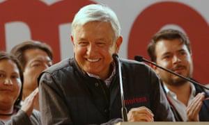 Andres Manuel López Obrador.