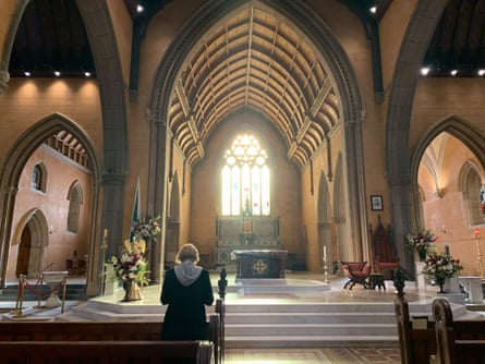 The inside of Ballarat cathedral.