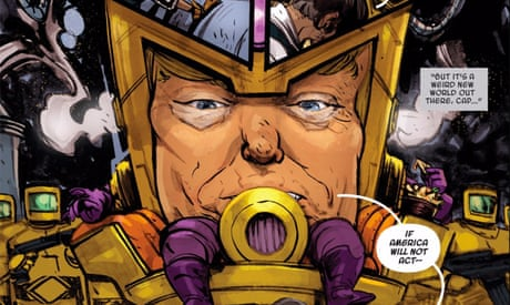 The Cartoon President Trump Has Wielded Power In Comics For Years