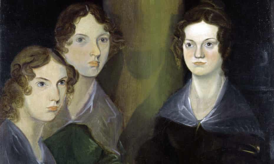 The Brontë Sisters by Patrick Branwell Brontë circa 1834.