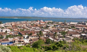 The view from Gibara, Cuba.