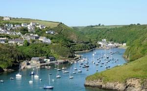 Solva harbour and village in Pembrokeshire