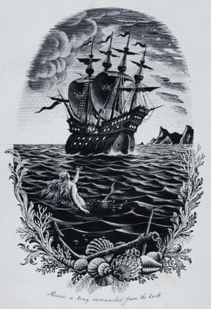 Illustration for Hans Christian Andersen's the Little Mermaid