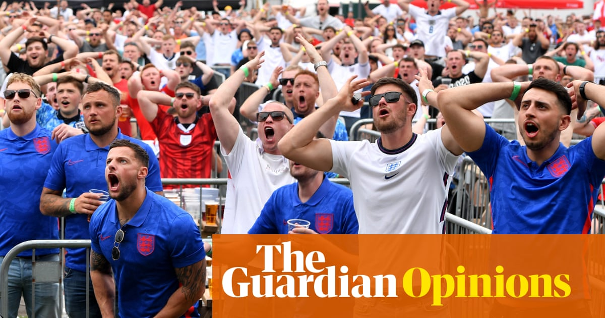 One of the joys of Euro 2020? Watching casual football fans suffer
