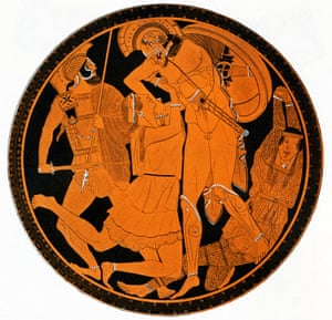 Penthesilea and Achilles.
