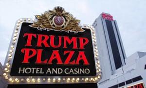 The Trump Plaza Hotel Casino in Atlantic City, New Jersey, pictured in 2010. The casino has since fallen into disrepair.
