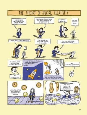 Einstein graphic novel biography