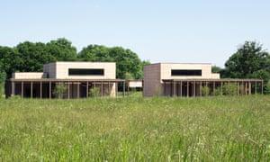 Bushey Cemetery, Hertfordshire, by Waugh Thistleton Architects. Stirling prize shortlist 2018.