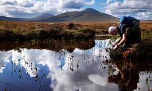 Andrew Coupar, a NatureScot peatlands expert, at the Forsinard visitor centre.
