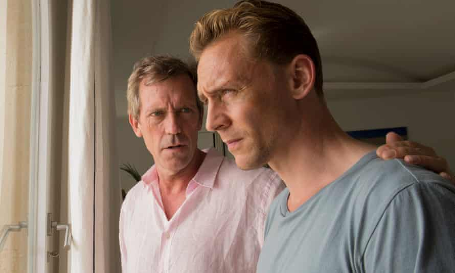 Hugh Laurie and Tom Hiddleton in The Night Manager.
