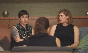 Sarah and Lauren in Couples Therapy.