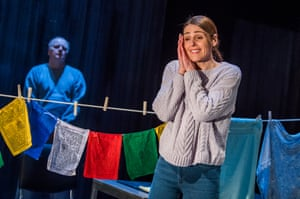 Jason Watkin and Suranne Jones in Frozen by Bryony Lavery at Theatre Royal Haymarket.