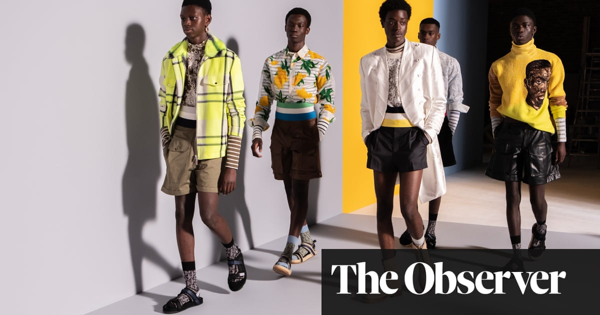 'I saw a million ideas all at once': Dior Men's Kim Jones and Amoako Boafo