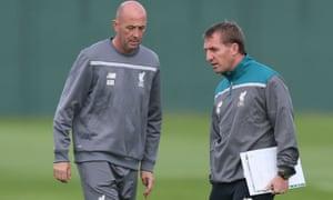 Gary McAllister, left, will not be part of new manager Jürgen Klopp's staff.