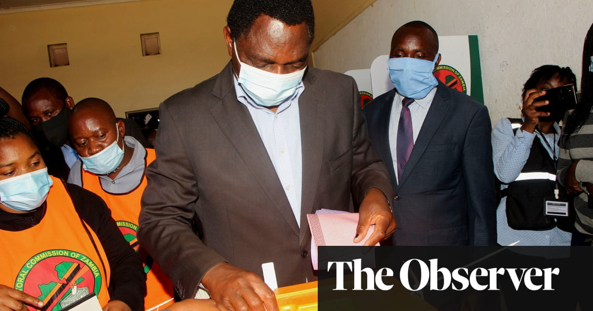 Zambia opposition leader takes election lead over Edgar Lungu