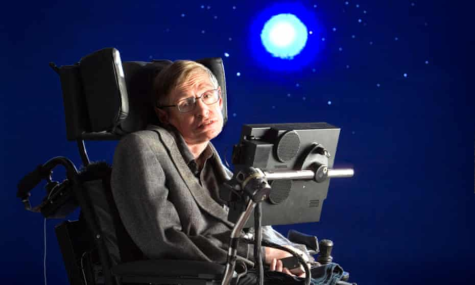 'He didn't suffer fools gladly': Stephen Hawking photographed in 2005.