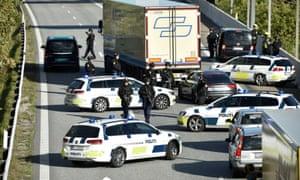 Police close Øresund bridge