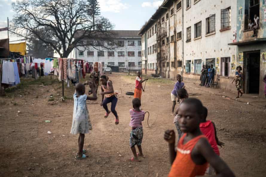 Harare's Mbare neighbourhood