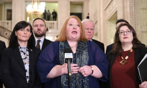 The Alliance party's leader, Naomi Long